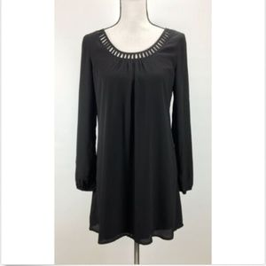 G by Guess Shift Dress M Medium Long Sleeve Elasti